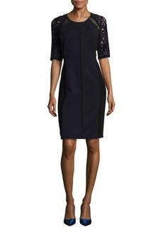 Rebecca Taylor Colorblock Sheath Dress
