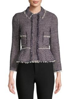 Rebecca Taylor Confetti Tweed Jacket