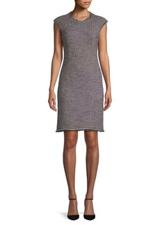 Rebecca Taylor Confetti Tweed Mini Dress