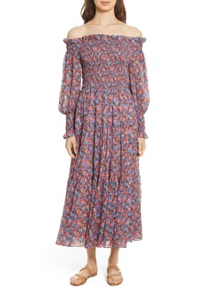 Rebecca Taylor Cosmic Fleur Maxi Dress