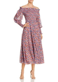 Rebecca Taylor Cosmic Flower Dress