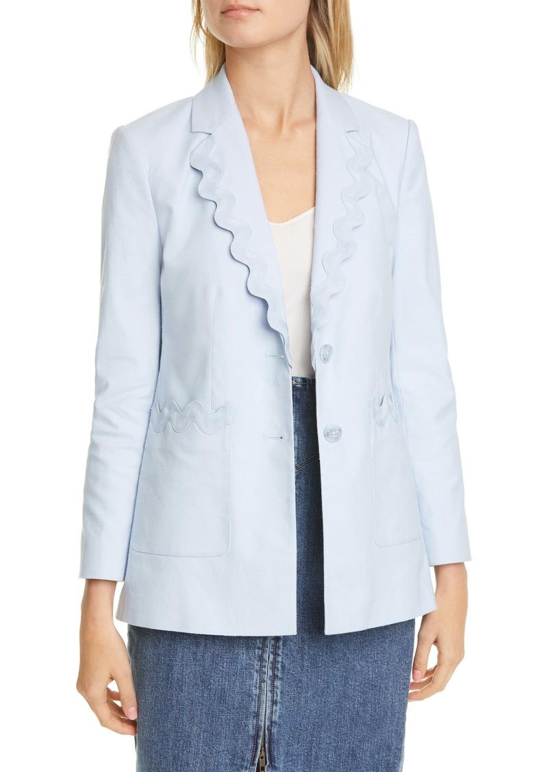 Rebecca Taylor Cotton Blend Jacket