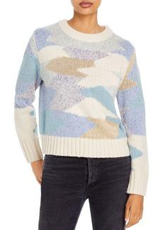 Rebecca Taylor Crewneck Printed Sweater