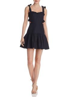 Rebecca Taylor Crisp Cutout Dress