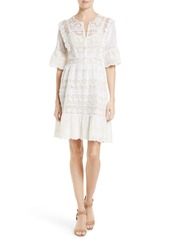 Rebecca Taylor Crochet Lace Dress