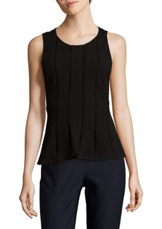 Rebecca Taylor Diamond Textured Top