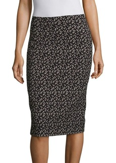 Rebecca Taylor Dragonfly Pencil Skirt