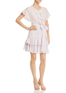 Rebecca Taylor Dree Ruffled Eyelet Dress