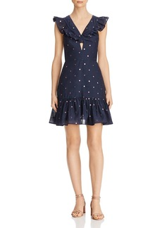 Rebecca Taylor Embroidered Dot Dress