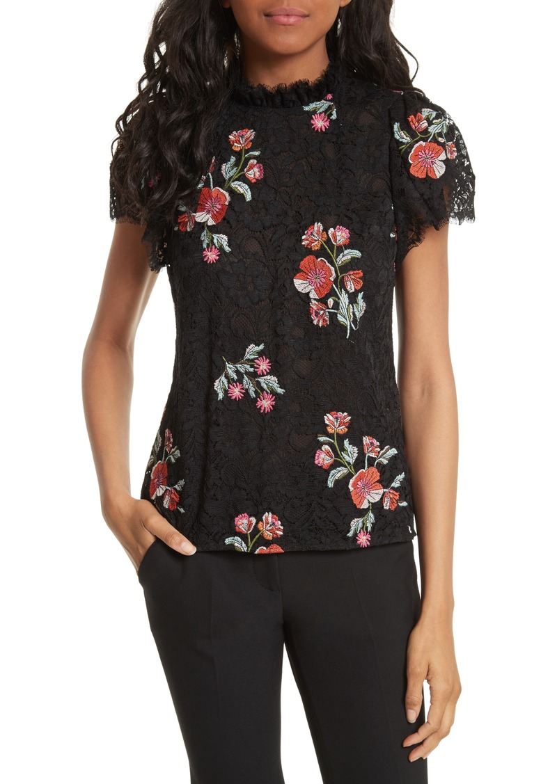 ba678d3684 Rebecca Taylor Rebecca Taylor Embroidered Lace Top
