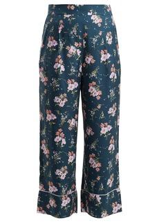 Rebecca Taylor Emilia floral-print silk-blend trousers