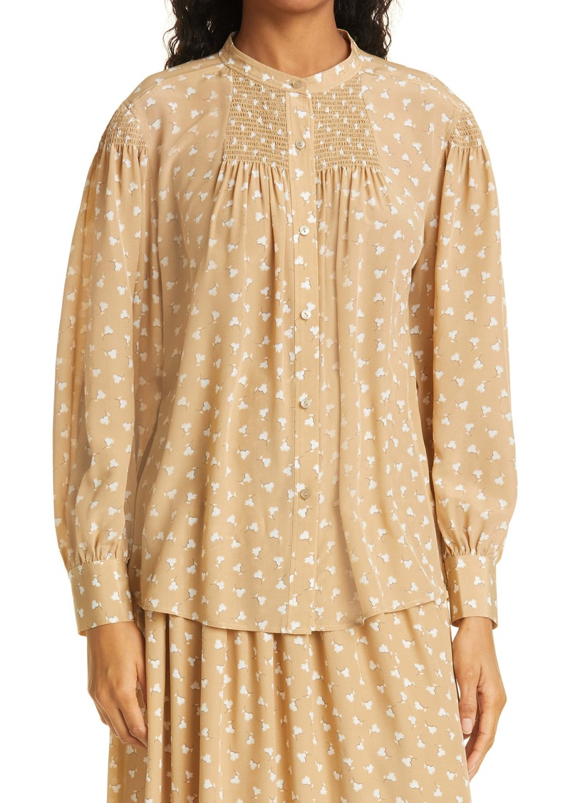 Rebecca Taylor Emmy Floral Button-Up Shirt