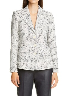 Rebecca Taylor Eyelash Tweed Jacket