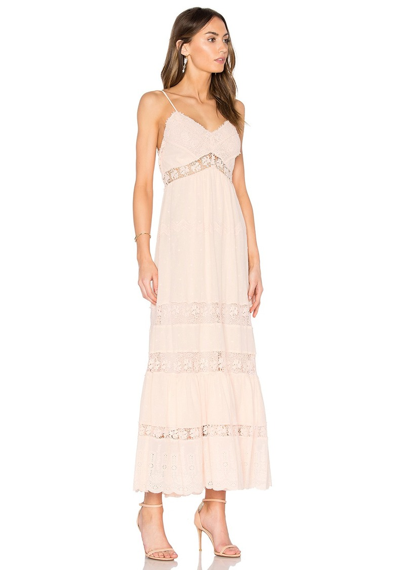 Rebecca Taylor Eyelet Midi Dress