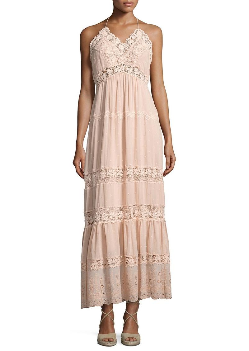 Rebecca Taylor Rebecca Taylor Eyelet Sleeveless Maxi Dress | Dresses