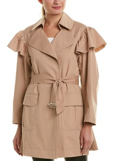 Rebecca Taylor Faille Trench Coat