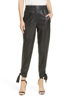 Rebecca Taylor Faux Leather Pants