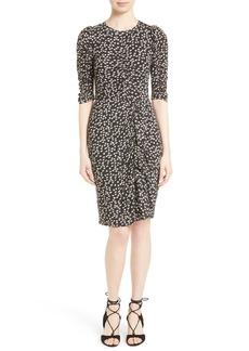 Rebecca Taylor Floral Fizz Midi Dress