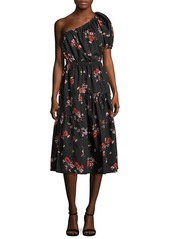 Rebecca Taylor Floral Knee-Length Dress