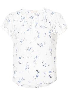 Rebecca Taylor floral print blouse - White