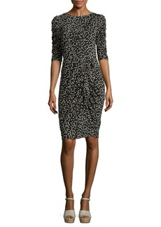 Rebecca Taylor Floral-Print Knee-Length Dress