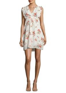 Rebecca Taylor Floral Print Marguerite Dress