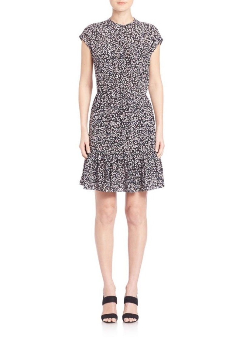 Rebecca Taylor Floral Printed Shift Dress