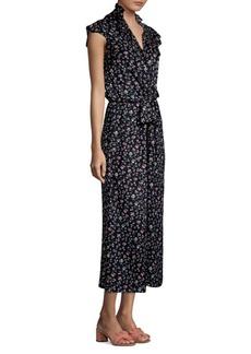 Rebecca Taylor Floral Silk Jumpsuit