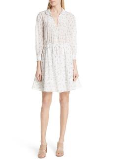 Rebecca Taylor Floral Sprig Shirtdress