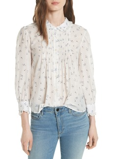 Rebecca Taylor Floral Spring Blouse