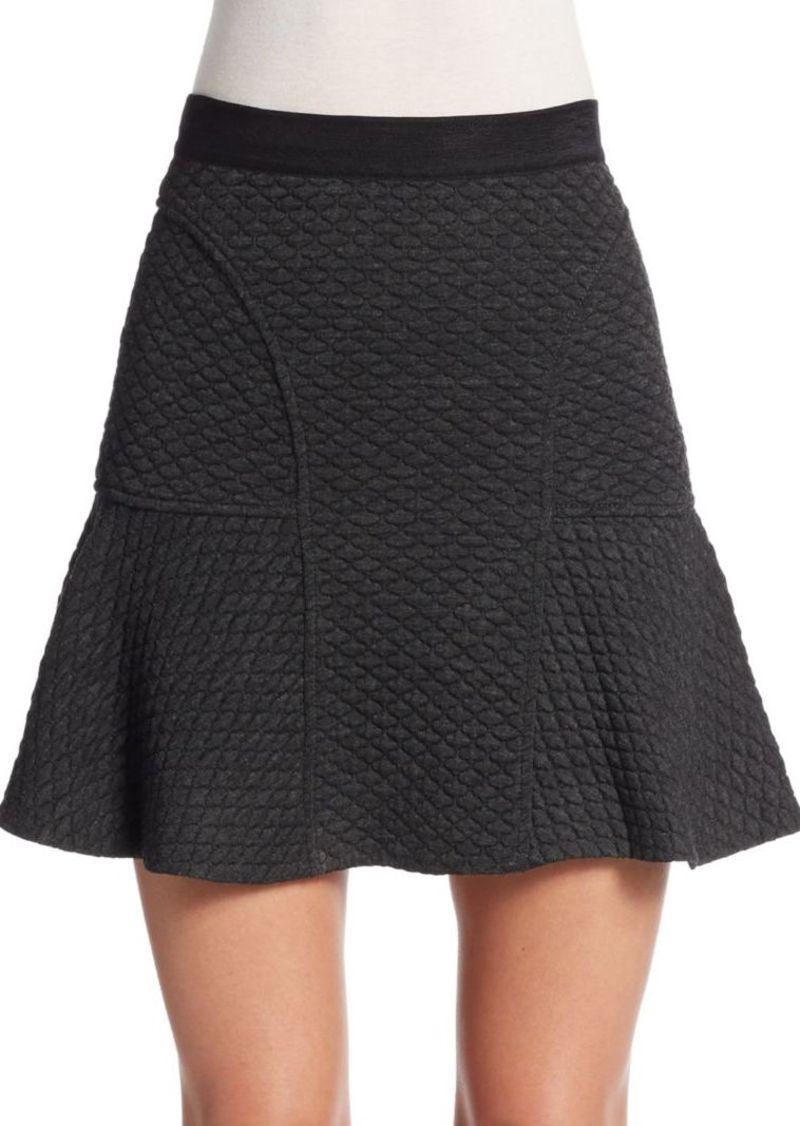 Rebecca Taylor Flounced A-Line Skirt