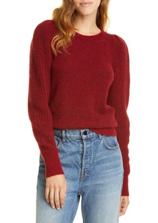 Rebecca Taylor Fluffy Alpaca & Wool Blend Sweater