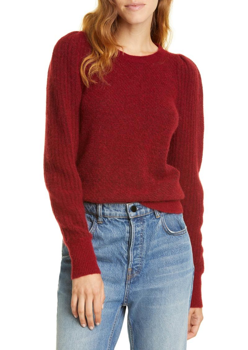Rebecca Taylor Fluffy Alpaca & Wool Blend Sweater