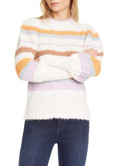 Rebecca Taylor Fluffy Stripe Sweater