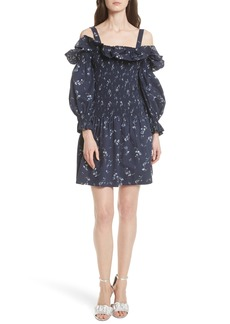Rebecca Taylor Francine Off the Shoulder Dress