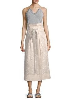 Garden Eyelet Skirt