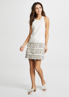 Rebecca Taylor Garden Eyelet Sleeveless Dress