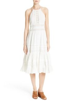 Rebecca Taylor Gauze Midi Dress