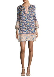 Rebecca Taylor Gigi Floral-Printed Shift Dress