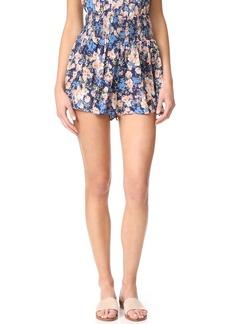 Rebecca Taylor Gigi Floral Shorts