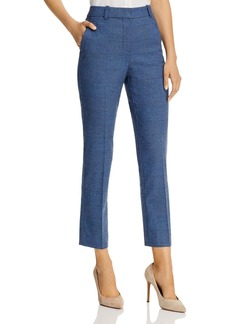 Rebecca Taylor Glen Plaid Ankle Pants