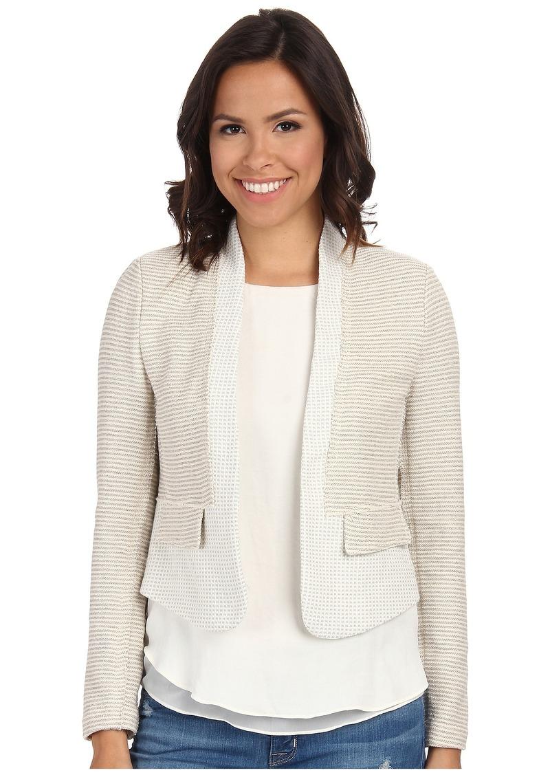 Rebecca Taylor Grid Tweed Jacket