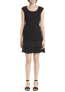 Rebecca Taylor Honeycomb Fit & Flare Dress
