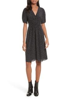 Rebecca Taylor Hummingbird Silk Dress