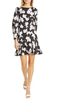 Rebecca Taylor Ikat Blossom Long Sleeve Dress