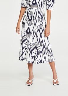 Rebecca Taylor Ikat Linen Skirt