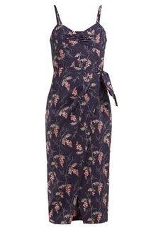 Rebecca Taylor Ivie floral-print cotton midi dress