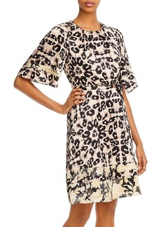 Rebecca Taylor Kaleidoscope Leopard Print Dress - 100% Exclusive