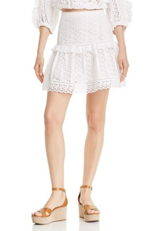 Rebecca Taylor Karina Eyelet Skirt