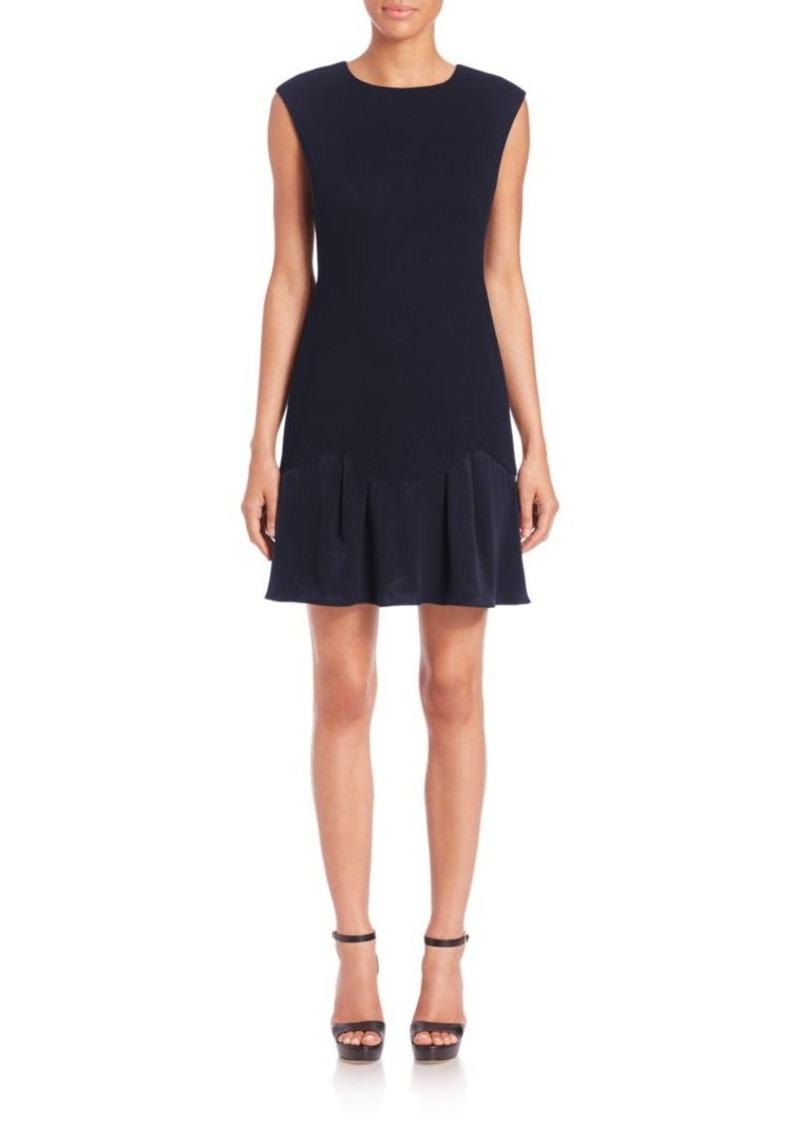 Rebecca Taylor Stacy Mini Flounce Dress